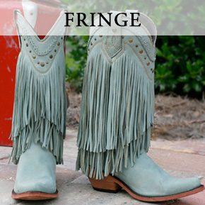 Liberty Black Fringe Boots